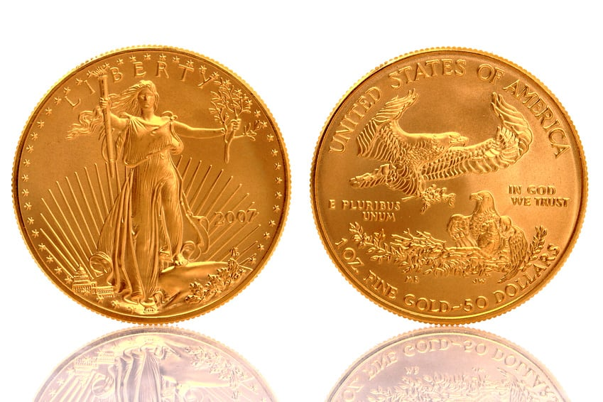 American Gold Eagle 1 oz Fine Gold Coin