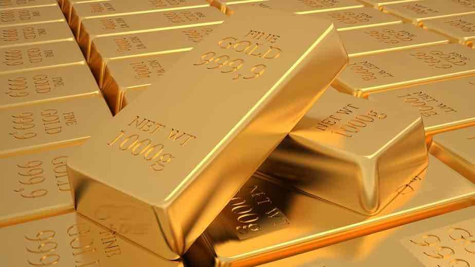 gold bars hold in a 401k gold IRA rollover