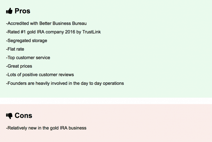 gold ira review of top 3 company