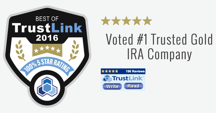 top gold ira companies -best of trustlink